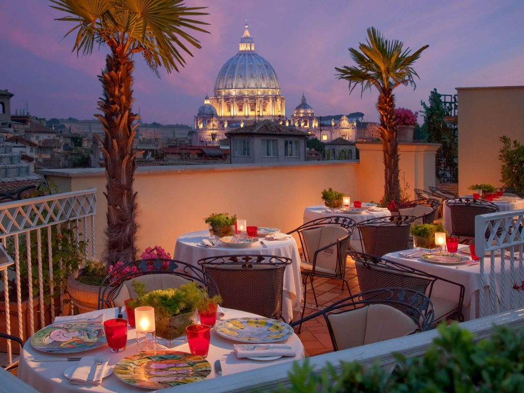 Hotel Raphael Rome Italy Hotels And Resorts