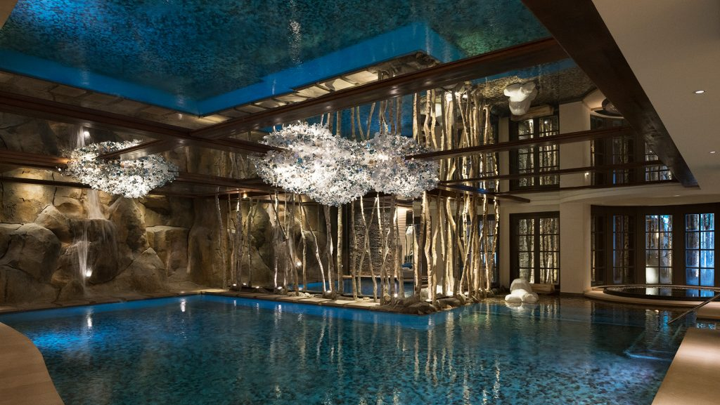 Cheval Blanc Courchevel, French Alps, France