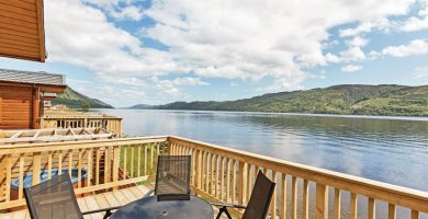 Loch Ness Lodge, Highlands, Scotland